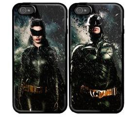 Batman and Catwoman-Couple series Custom case for iphone 4/4s and iphone 5